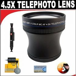 4.5X Proffessional HD Mark II Special Edition Telephoto Lens For The Fujifilm FinePix IS-1 SLR Camera
