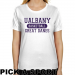 Albany Great Danes Ladies Custom Sport Classic Fit T-Shirt - White