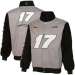 Chase Authentics Matt Kenseth Big Number Full Button Jacket - Gray