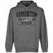 Edmonton Rush Established Pullover Hoodie - Gunmetal