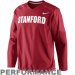 Nike Stanford Cardinal Fourth Down Performance Pullover Wind Jacket - Cardinal