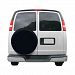 Classic Accessories Rv Universal Fit Spare Tire Cover, Fits 26.75 - 29.75 Wheel Diameter Black
