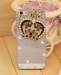 iPhone - Rhinestonel Case Cover For Apple Iphone 5 5s Iphone 4 4s Cover , Luxury Diamond Hard Back Skin Cover Mobile phone Protective Case - 4