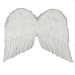 "22"" White Feather Wings"