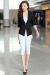 Candy One Button Blazer - S / Black