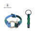Blue & Green Nautical Bracelet and Keychain - 16 cm / Blue/Green
