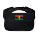 RBG Pan African Flag with Yellow Fist Visor - Red