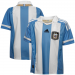 adidas Argentina Youth Home Soccer Jersey 11/12 - Light Blue-White