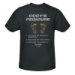 Dual Survival Cody's Pedicure T-Shirt - Charcoal Grey
