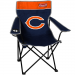 Coleman Chicago Bears Navy Blue-Orange Quad Folding Chair