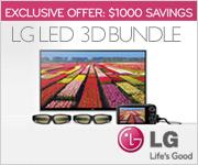 LG LED 3D Bundle