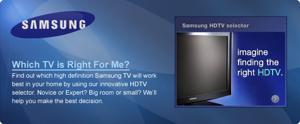 Samsung TV is Right For Me?