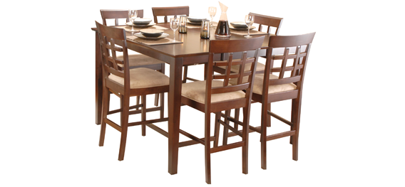 Anytime Anyplace Augusta Pub Dining Set