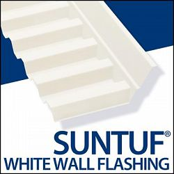 Suntuf Wall Connector 4 Feet 2 Inch Solar Gry - Sale Prices