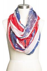 Bluenotes - Girls Union Jack Oblong Scarf