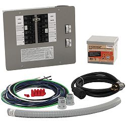 30 Amp Generator Transfer Switch Kit For 10 16 Circuits