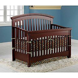 Shermag Regency Deluxe Convertible Crib Cherry Sale Prices