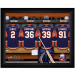 New York Islanders Customized Locker Room Black Framed Photo