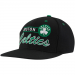 adidas Boston Celtics Black Grind Snapback Adjustable Hat