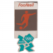 London 2012 Olympic Sports Football/Soccer Pin
