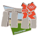 London 2012 Olympics Stonehenge Landmark Icon Pin