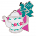 London 2012 Olympics Tea Pot Landmark Icon Pin -