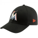 New Era Miami Marlins Youth Tie Breaker Hat - Black
