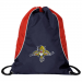 Florida Panthers Axis Drawstring Backpack - Navy Blue