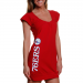 Philadelphia 76ers Ladies Tunic Dress - Red