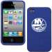 New York Islanders iPhone 4 Silicone Case - Royal Blue