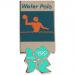 London 2012 Olympic Sports Water Polo Pin