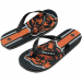 Chicago Bears Youth Big Logo Flip Flops - Navy Blue