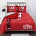 Tony Stewart 5-Piece Full Size Bedding Set - Red