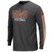 Cleveland Browns Gridiron Tough IV Long Sleeve T-Shirt - Charcoal