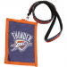 Oklahoma City Thunder Ladies Beaded Rhinestone Lanyard Wallet