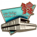 London 2012 Olympics Lee Valley White Water Centre Venue Pin