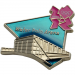 London 2012 Olympics Water Polo Arena Venue Pin
