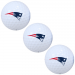 New England Patriots 3-Pack of Golf Balls