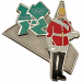 London 2012 Olympics Standing Royal Guard Pin