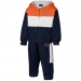 Chicago Bears Infant Tri-Color Zip Front Hoodie & Pant Set - Orange/White/Navy Blue