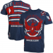 Affliction American Kickboxing Academy T-Shirt - Navy