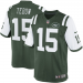 Nike Tim Tebow New York Jets Limited Jersey - Green/White