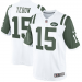 Nike Tim Tebow New York Jets Limited Jersey - White/Green