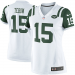 Nike Tim Tebow New York Jets Women's Limited Jersey - White/Green