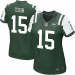 Nike Tim Tebow New York Jets Ladies Limited Jersey - Green/White