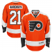 Reebok James Van Riemsdyk Philadelphia Flyers Premier Jersey - Orange
