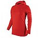 Nike Dri-Fit Soft-Hand Hoodie - Womens - Hyper Red/Melon Tint