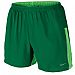 "Nike Dri-Fit 5"" Stretch Woven Running Short - Mens - Pine Green/Poison Green"