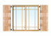 "97"" Board-N-Batten Shutters W/Three Battens (Per Pair)"