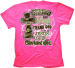 CAMO AND PEARLS THANK GOD I'M A JESUS LOVIN CHERISHED GIRL TSHIRT - SMALL